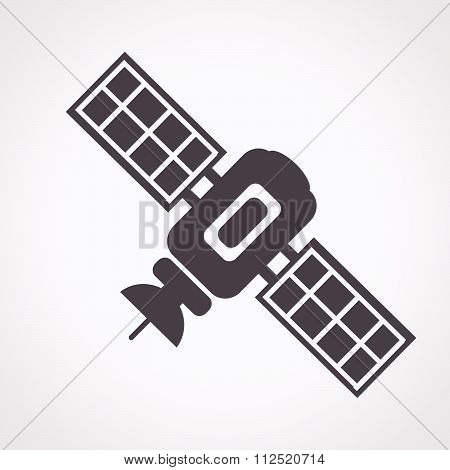 an images of illustration vector satellite icon
