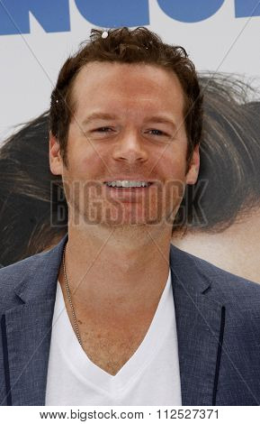 HOLLYWOOD, CALIFORNIA - June 12, 2011. Eric Matheny at the Los Angeles premiere of