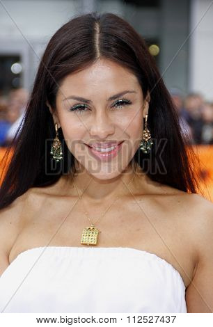 Carla Ortiz at the Los Angeles Premiere of