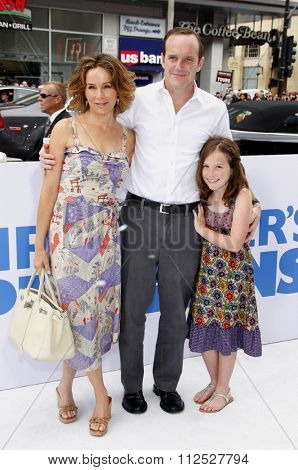 Clark Gregg and Jennifer Grey at the Los Angeles Premiere of