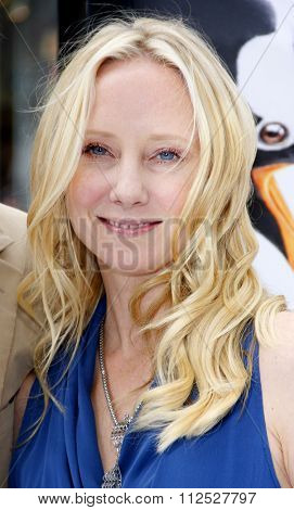 Anne Heche at the Los Angeles Premiere of