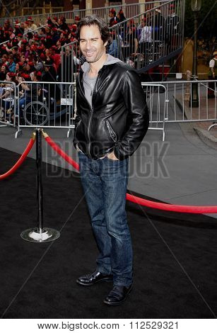 DISNEYLAND, CALIFORNIA - May 7, 2011. Eric McCormack at the World premiere of