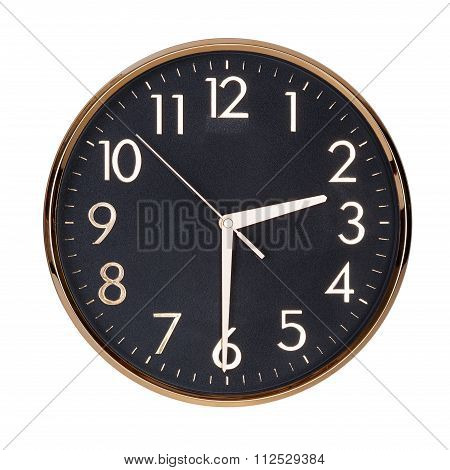 Half Past Two On The Clock Face