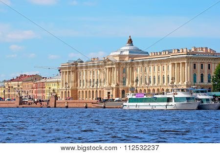 Saint-Petersburg. Russia. The Russian Academy of Arts
