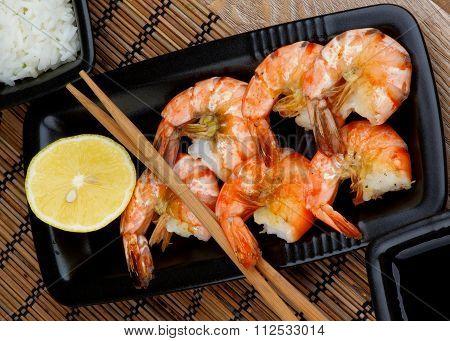 Asian Style Roasted Shrimps