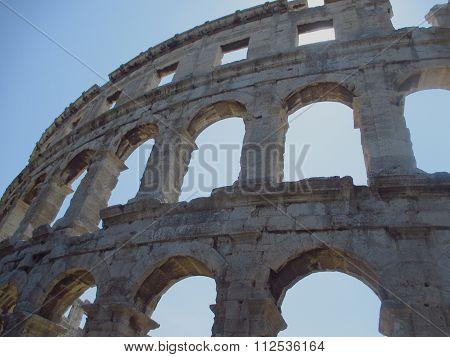 Roman Amphitheater Arena, Theater And Coliseum
