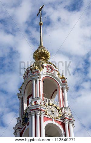 Russia. Tambov. Bell Tower Of Kazan Monastery