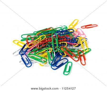 Multicoloured Clips.