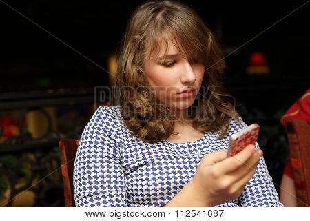 Teen With Smartphone