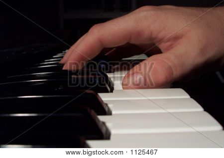 Mão no Piano