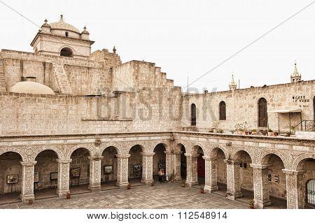 Peruvian Courtyard Outdoors