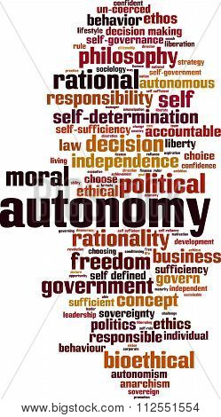 Autonomy Word Cloud