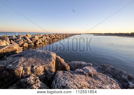Summer On The Great Lakes Shore