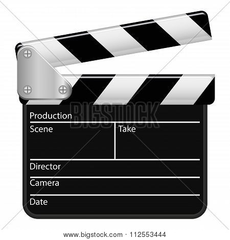 Illustration Vector Graphic Clapperboard