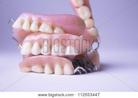 Several Dentures