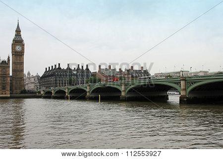 Cloudy London Sky