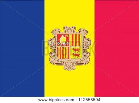 Standard Proportions For Andorra Flag