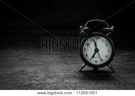 Still Life Red Clock