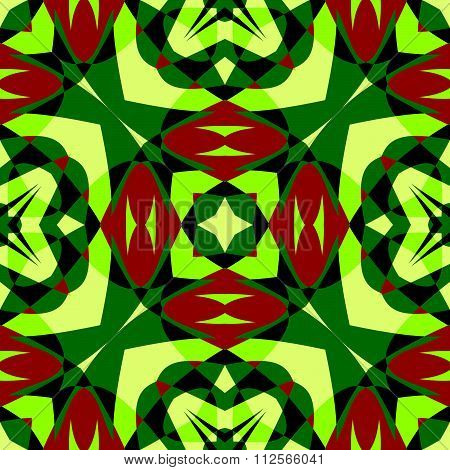 Chromatic Colorful Pattern