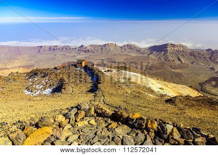 Teide National Park Landscape
