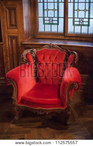 Red Velvet Chairs