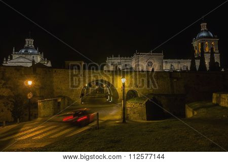 Ciudad Rodrigo At Night