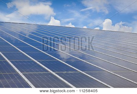 solar photovoltaic with cloud