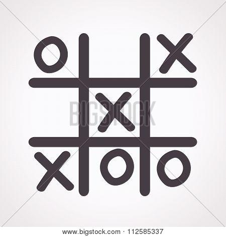 X O Icon