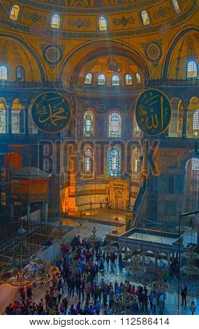 ISTANBUL - MAY 3: Interior of the