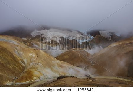Geothermal Valley Kerlingarfjoll, Iceland