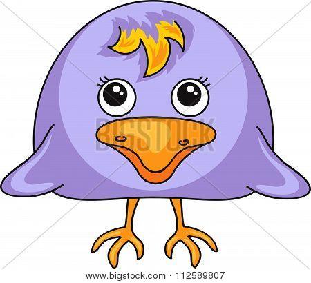 Cartoon Crow