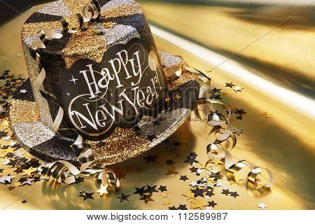 Happy New Year's hat