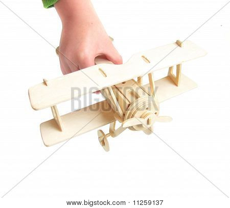 Wooden Model Plane