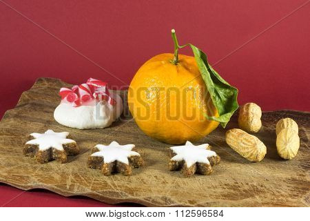 Seasonal Christmas Still Life Home Decoration