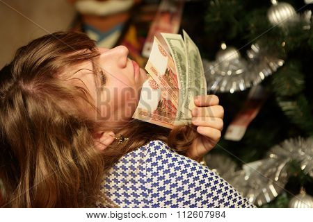 Teen With Money
