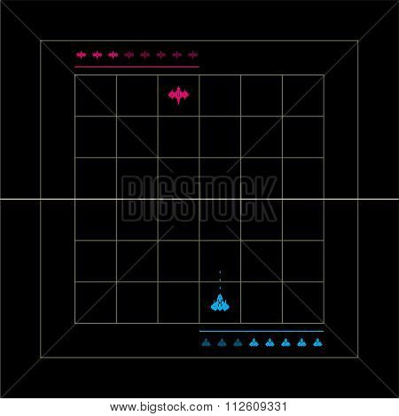 Template of the battle game