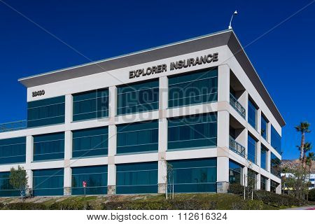 Explorer Insurance Headquarters and Logo