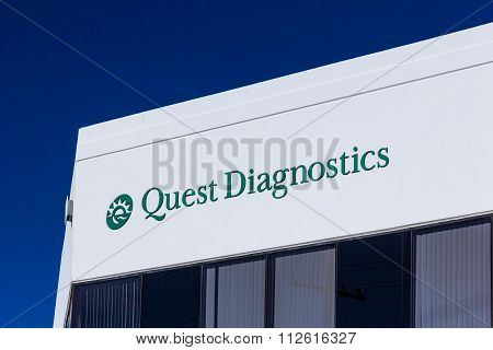 Quest Diagnostics Exterior And Logo