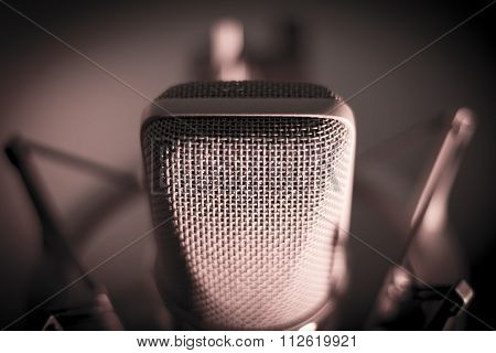 Audio Recording Vocal Studio Voice Microphone