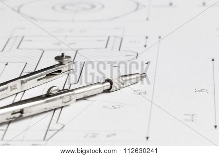 Lying Drawing Compasses