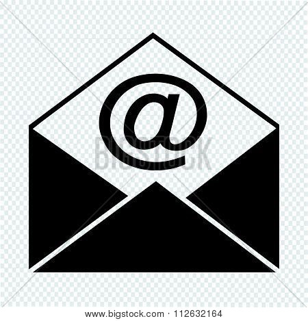 Sending Email And Envelope Icon