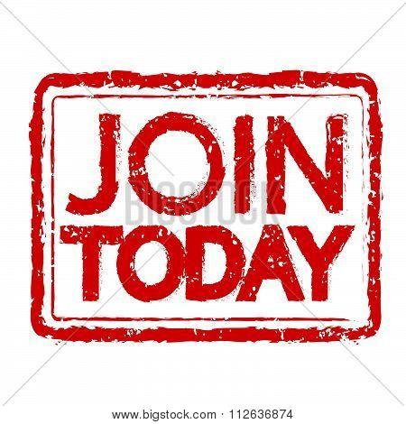 Join Today Stamp