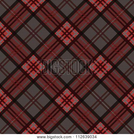 Diagonal Seamless Pattern In Dark Colors