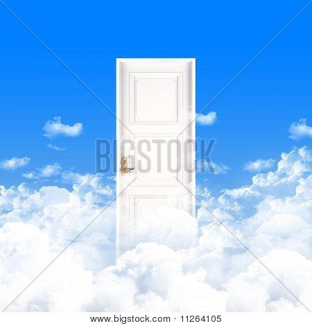 White windows and doors