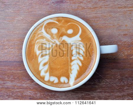 Latte Coffee art
