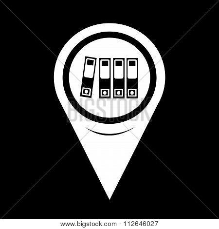 Map Pointer Folder Icon