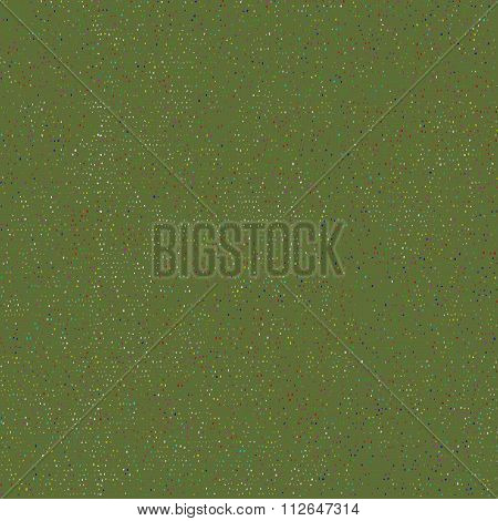 Vector seamless green background