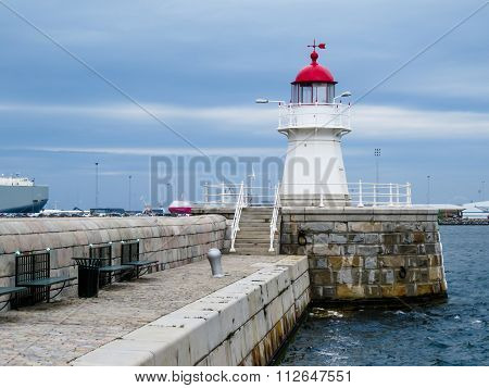 Old Lighthouse in Malmo, Sweden