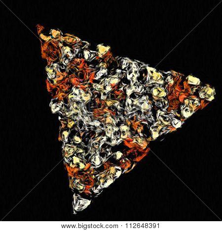 pizza impressionism