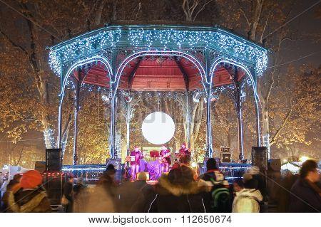 Advent Celebration On Zrinjevac